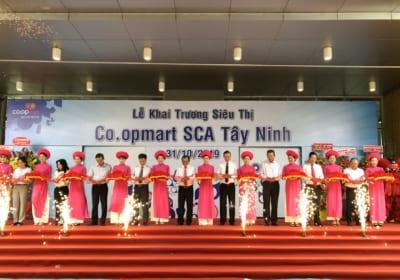 Công ty tổ chức lễ Khai trương chuyên nghiệp tại Tây Ninh I Lễ khai trương Siêu thị Co.opmart SCA