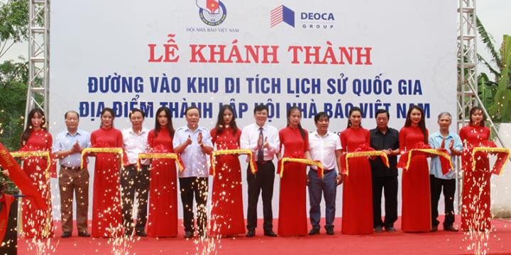 Công ty tổ chức lễ khánh thành giá rẻ tại Thái Nguyên I Lễ khánh thành đường vài khu di tích lịch sử quốc gia