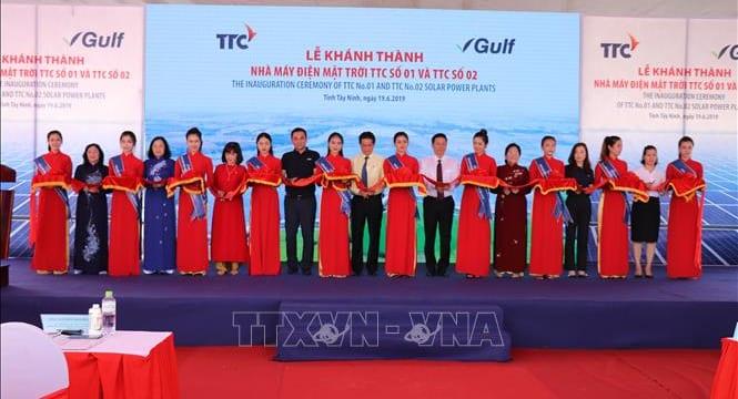Công ty tổ chức lễ Khánh thành giá rẻ tại Tây Ninh I Lễ khánh thànhnhà máy điện năng lượng mặt trời TTC