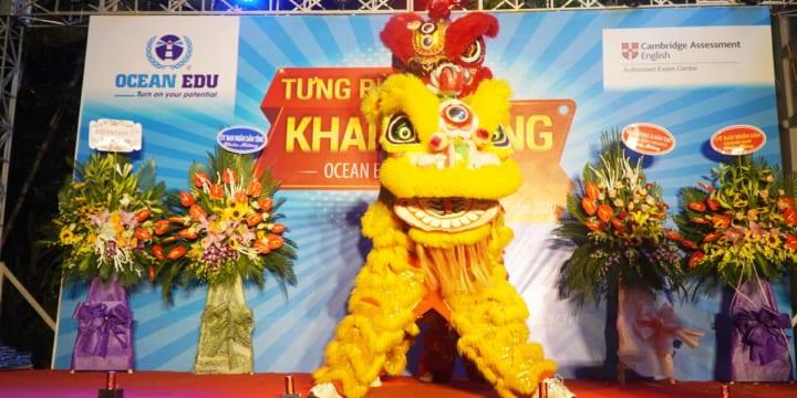 Công ty tổ chức lễ khai trương giá rẻ tại Bắc Giang I Lễ khai trương Ocean Edu Bắc Giang 2
