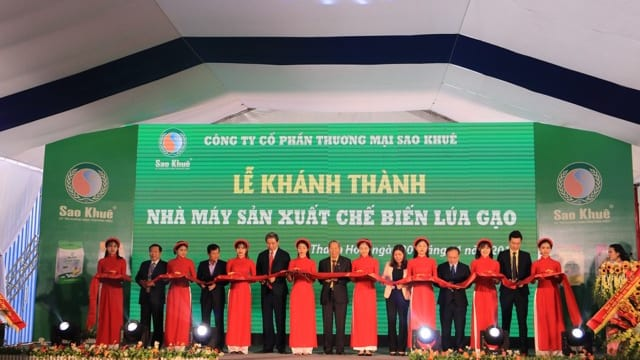 Công ty tổ chức lễ khánh thành chuyên nghiệp tại Thanh Hóa I Lễ khánh thành Công ty cổ phần thương mại Sao Khuê