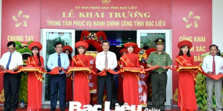Công ty tổ chức lễ Khai trương giá rẻ tại Bạc Liêu I Lễ khai trương Trung tâm phục vụ hành chính công