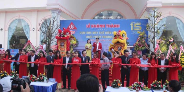 Công ty tổ chức lễ khánh thành giá rẻ tại Gia Lai I Khánh thành Nhà máy Trường Sinh