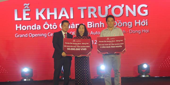 Công ty tổ chức lễ khai trương giá rẻ tại Quảng Bình  I Khai trương đại lý Honda ô tô Quảng Bình-Đồng Hới