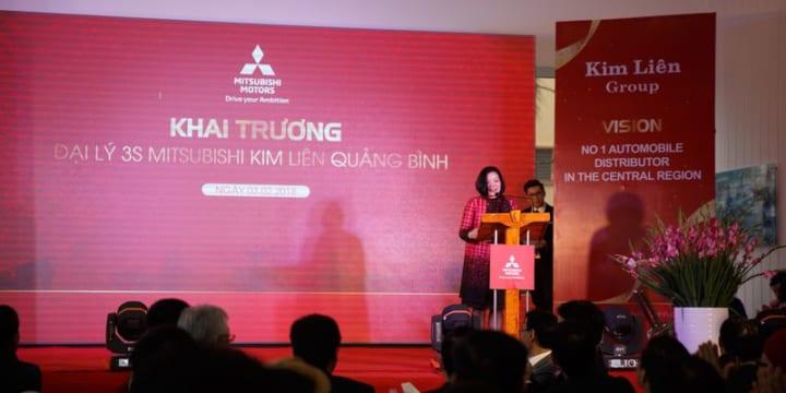 Công ty tổ chức lễ khai trương giá rẻ tại Quảng Bình  I Khai trương Đại lý Mitsubishi Kim Liên