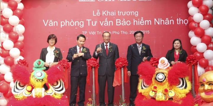 Tổ chức lễ khai trương tại Phú Thọ | Khai trương Văn phòng Tư vấn Bảo hiểm & Trung tâm Dịch vụ Khách hàng của Generali