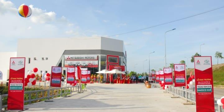 Tổ chức lễ khai trương tại Huế | Mitsubishi Motors Vietnam khai trương đại lý mới tại Huế