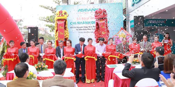 Công ty tổ chức lễ khai trương giá rẻ tại Điện Biên I Khai trương Ngân hàng ABBank