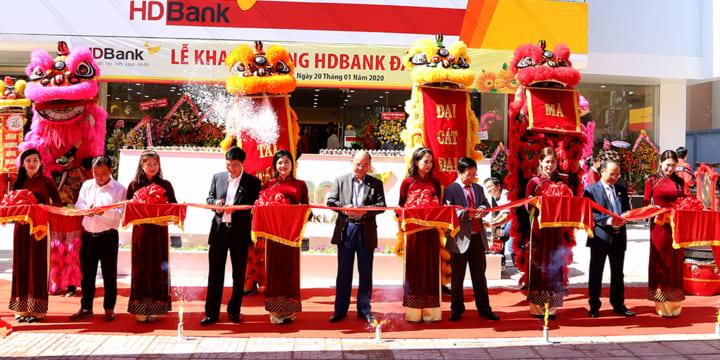 Công ty tổ chức lễ khai trương giá rẻ tại Đăk Lăk I Khai trương HD Bank