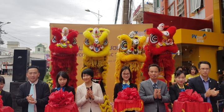Công ty tổ chức lễ khai trương giá rẻ tại Lâm Đồng I Khai trương PVcomBank