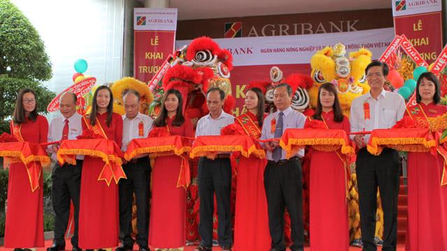 Công ty tổ chức lễ khai trương giá rẻ tại Đồng Nai I Khai trương Ngân hàng Agribank