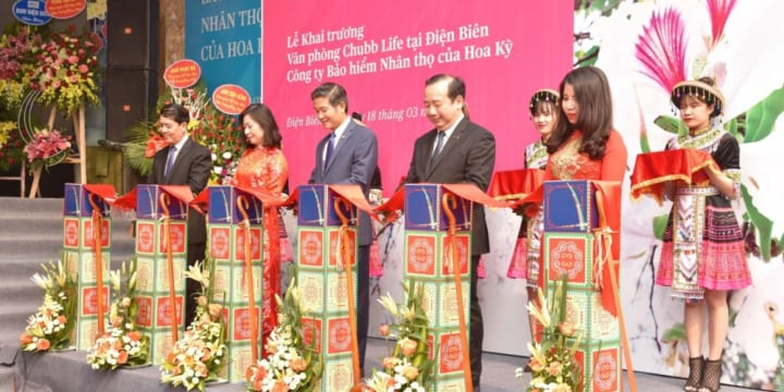 Công ty tổ chức lễ khai trương giá rẻ tại Điện Biên I Khai trương văn phòng kinh doanh Chubb Life