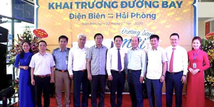 Công ty tổ chức lễ khai trương giá rẻ tại Điện Biên I Khai trương đường bay Điện Biên – Hải Phòng