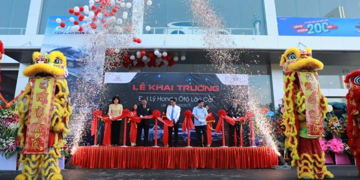 Công ty tổ chức lễ khai trương giá rẻ tại Lào Cai I Khai trương đại lý Honda Oto