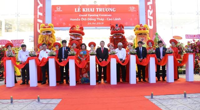 Công ty tổ chức lễ khai trương giá rẻ tại Đồng Tháp I Khai trương Honda Oto