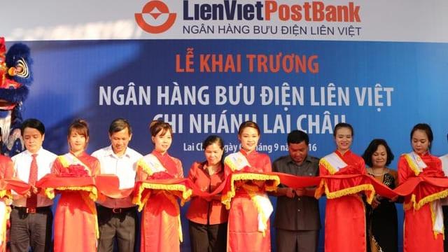 Công ty tổ chức lễ khai trương giá rẻ tại Lai Châu I Khai trương Ngân hàng Bưu điện Liên Việt