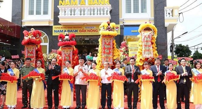 Công ty tổ chức lễ khai trương giá rẻ tại Đăk Nông I Khai trương Ngân hàng Nam A Bank