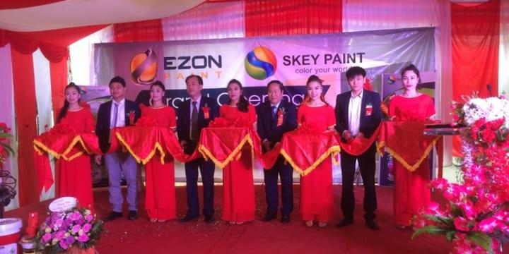 Công ty tổ chức lễ khai trương giá rẻ tại Lai Châu I Khai trương tổng kho sơn Skey