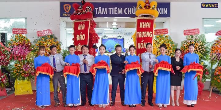 Công ty tổ chức lễ khai trương giá rẻ tại Bà Rịa – Vũng Tàu I Lễ khai trương trung tâm tiêm chủng của VNVC