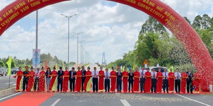 Công ty tổ chức lễ khánh thành giá rẻ tại Đồng Tháp I Khánh thành Cầu Vàm Cống