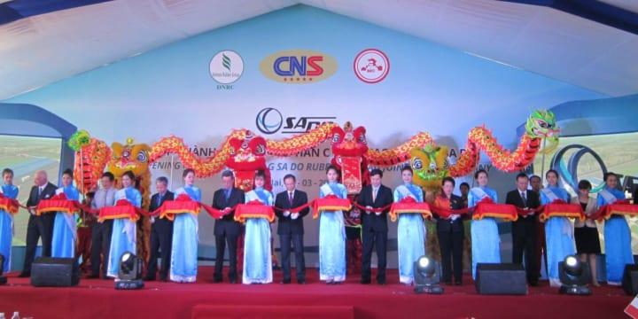Công ty tổ chức lễ khánh thành giá rẻ tại Đồng Nai I Khánh thành Công ty Cổ phần Chỉ sợi Cao su VRG SA DO