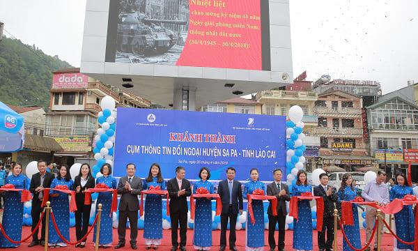 Công ty tổ chức lễ khánh thành giá rẻ tại Lào Cai I Khánh thành Cụm thông tin đối ngoại