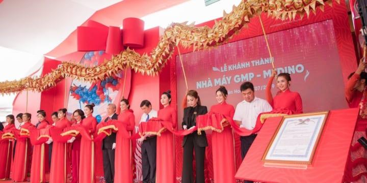 Công ty tổ chức lễ khánh thành giá rẻ tại Đồng Nai I Khánh thành Nhà Máy Medino