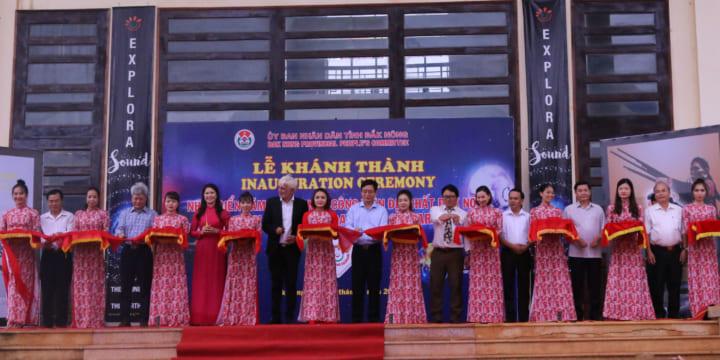 Công ty tổ chức lễ khánh thành giá rẻ tại Đăk Nông I Khánh thành Nhà triển lãm âm thanh
