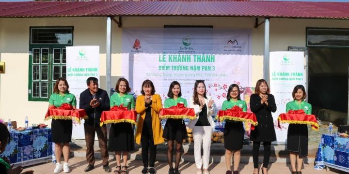 Công ty tổ chức lễ khánh thành giá rẻ tại Điện Biên I Khánh thành phòng học Thanh Mộc Hương