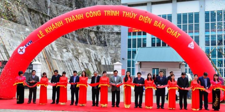Công ty tổ chức lễ khánh thành giá rẻ tại Lai Châu I Khánh thành thủy điện Bản Chát