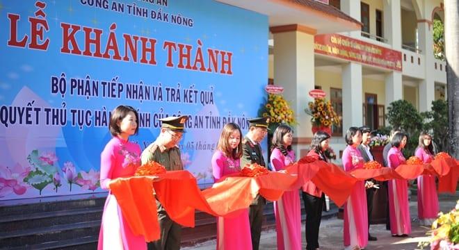 Công ty tổ chức lễ khánh thành giá rẻ tại Đăk Nông I Khánh thành trụ sở tiếp nhận và giải quyết thủ tục hành chính