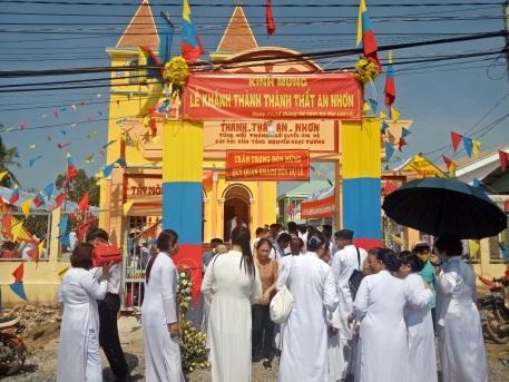 Công ty tổ chức lễ khánh thành giá rẻ tại Bến TreLễ khánh thành Thánh thất Cao Đài An Nhơn