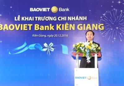 Tổ chức lễ khai trương tại Kiên Giang | BAOVIET Bank mở rộng mạng lưới tại Kiên Giang