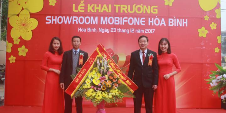 Công ty tổ chức lễ khai trương tại Hòa Bình | Khai trương showroom Mobifone Hoà Bình .