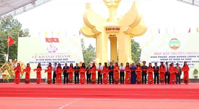 Công ty tổ chức lễ khánh thành giá rẻ tại Bình PhướcI Khánh thành khu di tích căn cứ Tà Thiết