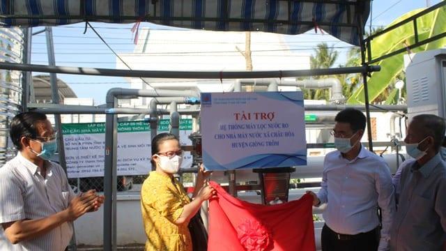 Công ty tổ chức lễ khánh thành giá rẻ tại Bến Tre I Khánh thành hệ thống máy lọc RO