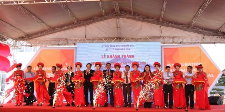 Công ty tổ chức lễ khánh thành giá rẻ tại Đăk Lăk I Khánh thành bệnh viện Đa khoa