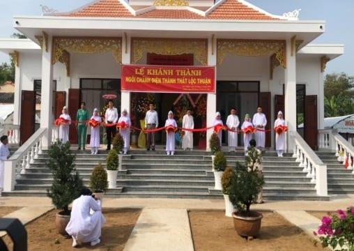 Công ty tổ chức lễ khánh thành giá rẻ tại Bến Tre IKhánh thành Thánh thất Cao Đài Lộc Thuận