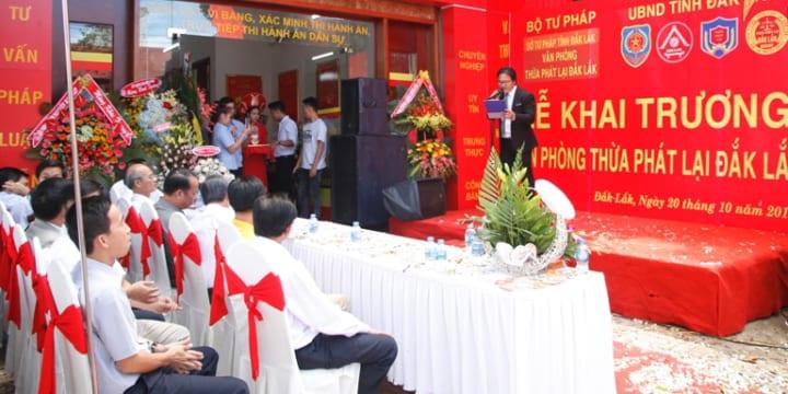 Công ty tổ chức lễ khai trương giá rẻ tại Đăk Lăk I Khai trương Văn phòng Thừa Phát