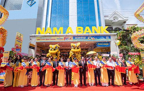 Tổ chức lễ khai trương giá rẻ tại Bình Thuận I Nam Á Bank khai trương chi nhánh mới