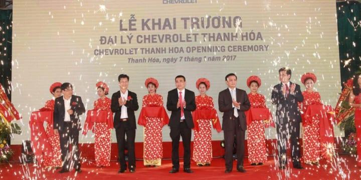 Công ty tổ chức lễ khai trương chuyên nghiệp tại Thanh Hóa I Lễ khai trươngđại lý Chevrolet