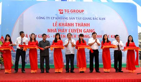 Công ty tổ chức lễ Khánh thành giá rẻ tại Bắc Kạn I Lễ khánh thành nhà máy luyện gang Cẩm Giàng