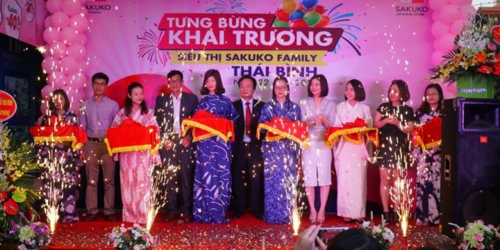 Công ty tổ chức lễ Khai trương chuyên nghiệp tại Thái Bình I Lễ khai trương siêu thịSakuko Family Thái Bình