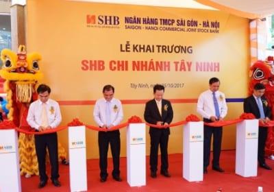 Công ty tổ chức lễ Khai trương giá rẻ tại Tây Ninh I Lễ khai trươngNgân hàng Sài Gòn – Hà Nội (SHB)