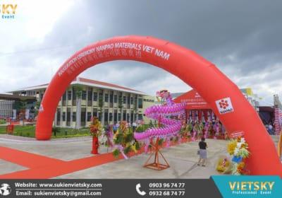 Công ty tổ chức lễ khánh thành chuyên nghiệp tại KCN Vĩnh Tường, Vĩnh Phúc