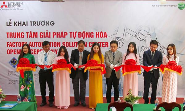 Tổ chức lễ khai trương giá rẻ tại Cần ThơIKhai trương Trung tâm Giải pháp Tự động hoá tại Đại học Cần Thơ