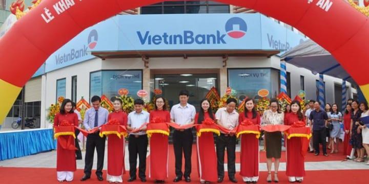 Công ty tổ chức lễ khai trương giá rẻ tại Nghệ An|Vietinbank tổ chức lễ khai trương phòng giao dịch Lê Nin