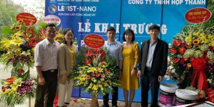 Tổ Chức Lễ khai trương ở Hưng Yên | Khai trương đại lý phân phối Sơn Levist – Nano Tuệ Minh