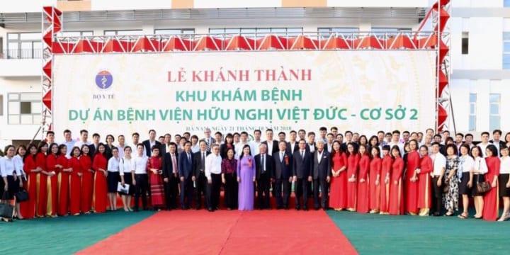 Công ty tổ chức lễ khánh thành giá rẻ tại Hà Nam I Lễ khánh thành Bệnh viện Hữu nghị Việt Đức
