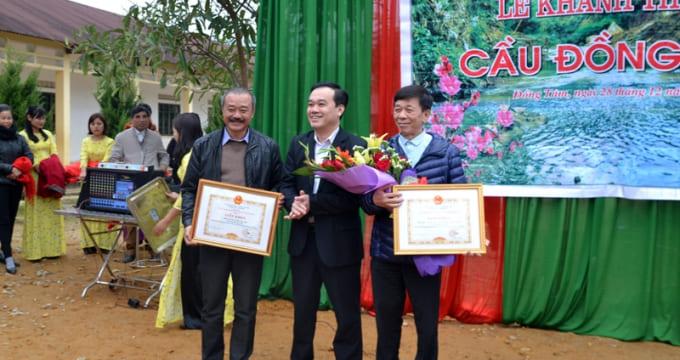 Công ty tổ chức lễ khánh thành giá rẻ tại Hà Giang I Khánh thành cầu Đồng Tâm